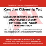 Citizenship classes Birchmount Summer 2014