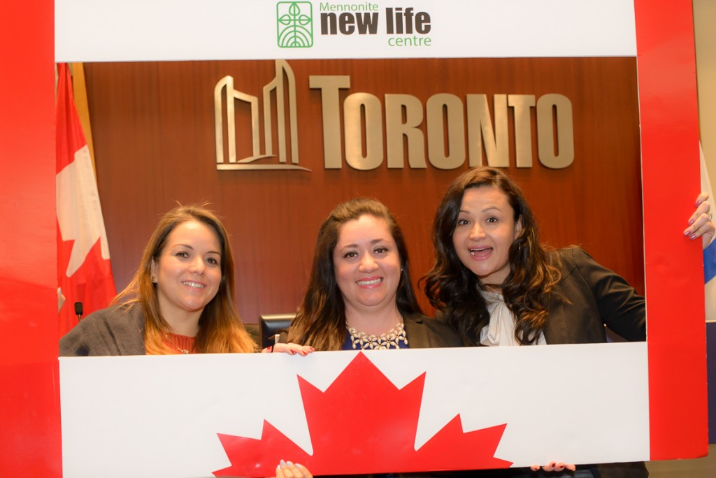 3 newcomers inside Toronto City Hall