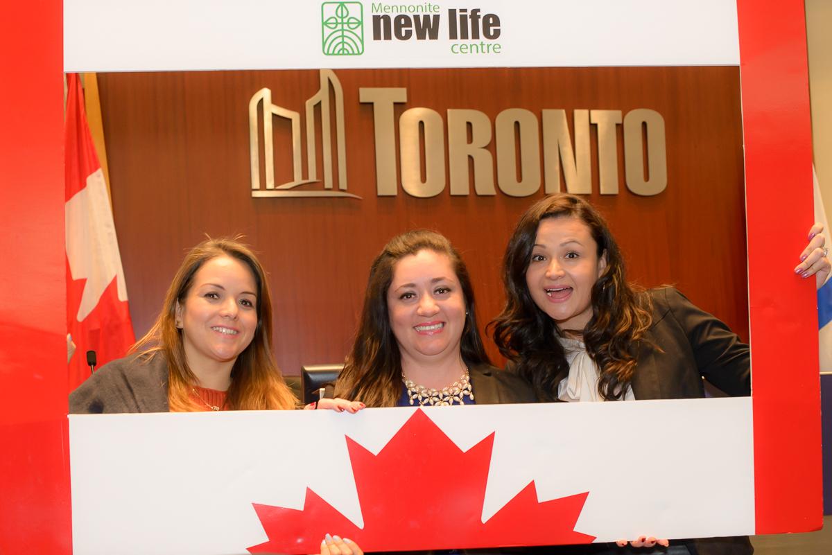 3 Newcomers Inside Toronto City Hall