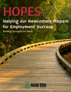 walkway - Helping Our Newcomers Prepare for Employment Success