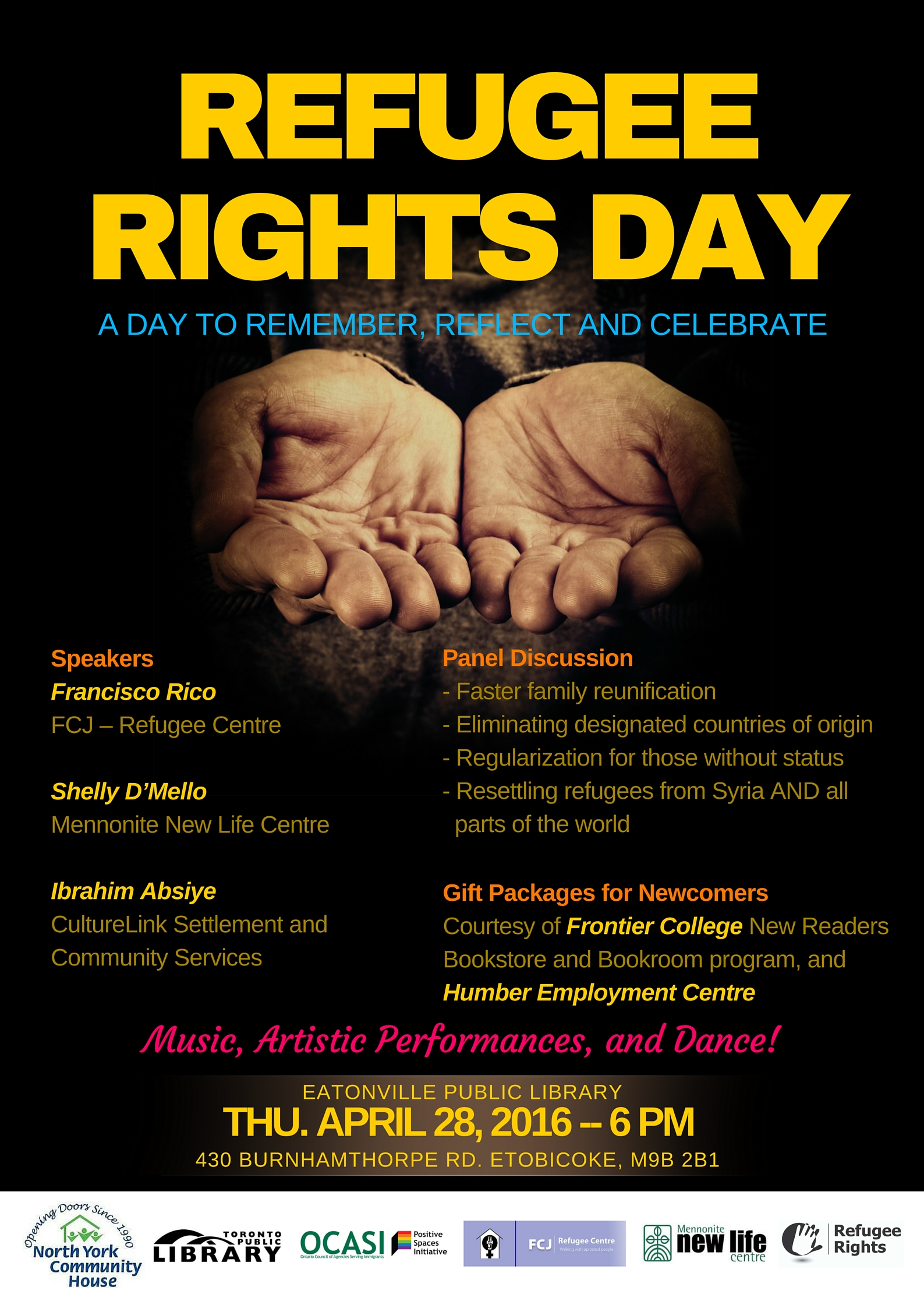 Refugee Rights Day 2016
