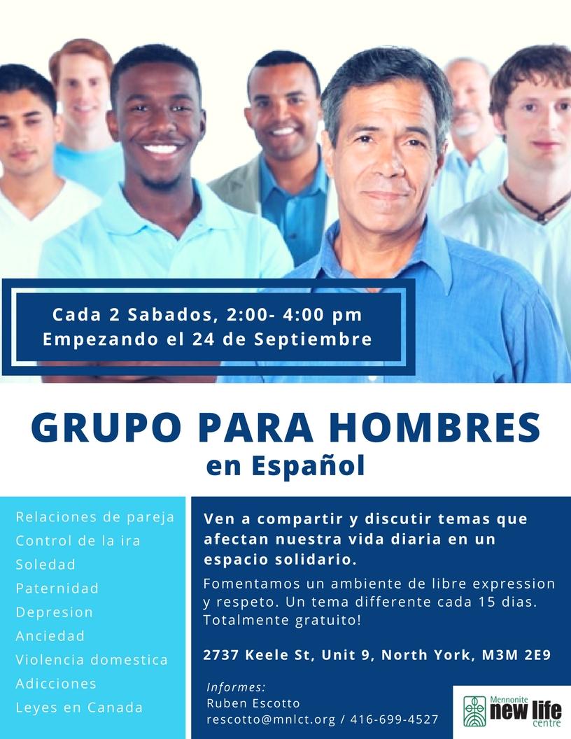 Spanish Men's Group