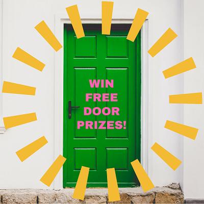 Win-free-door-prizes