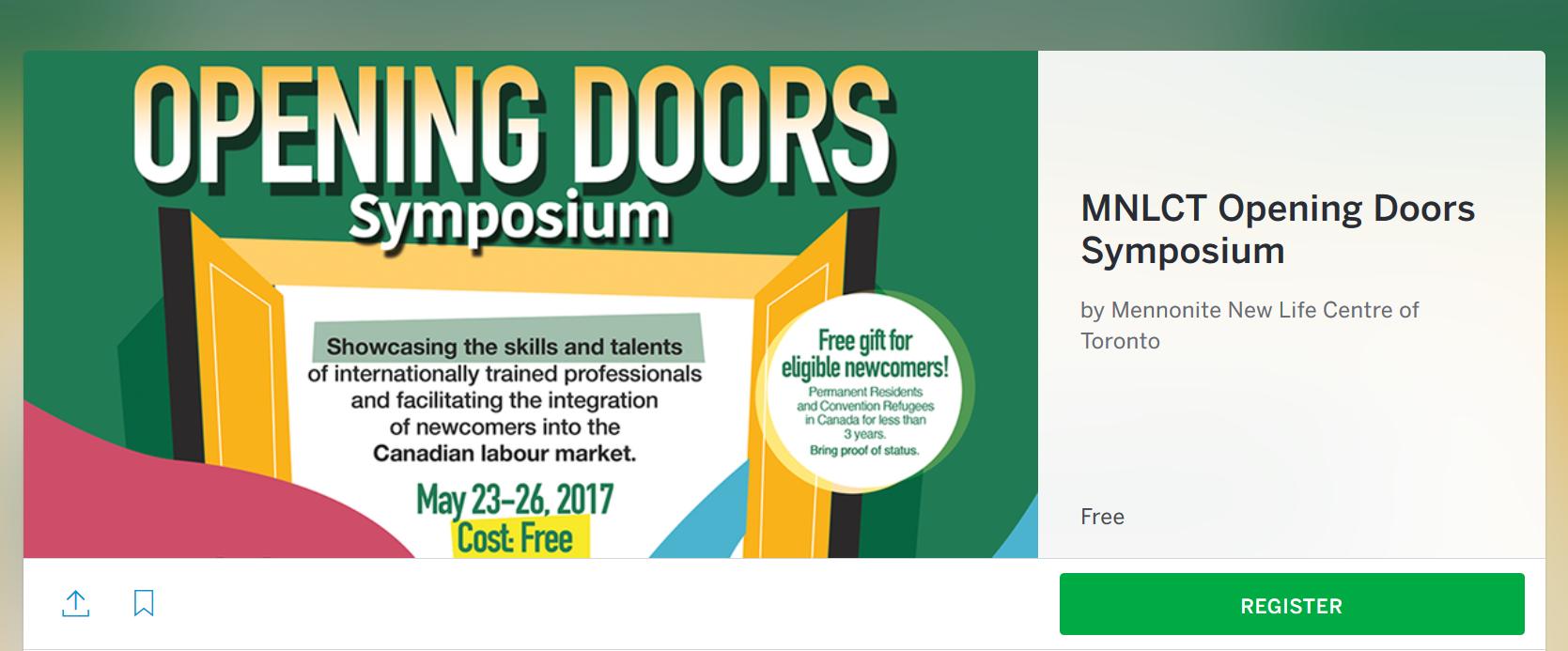 Opening Doors Registration Is LIVE!