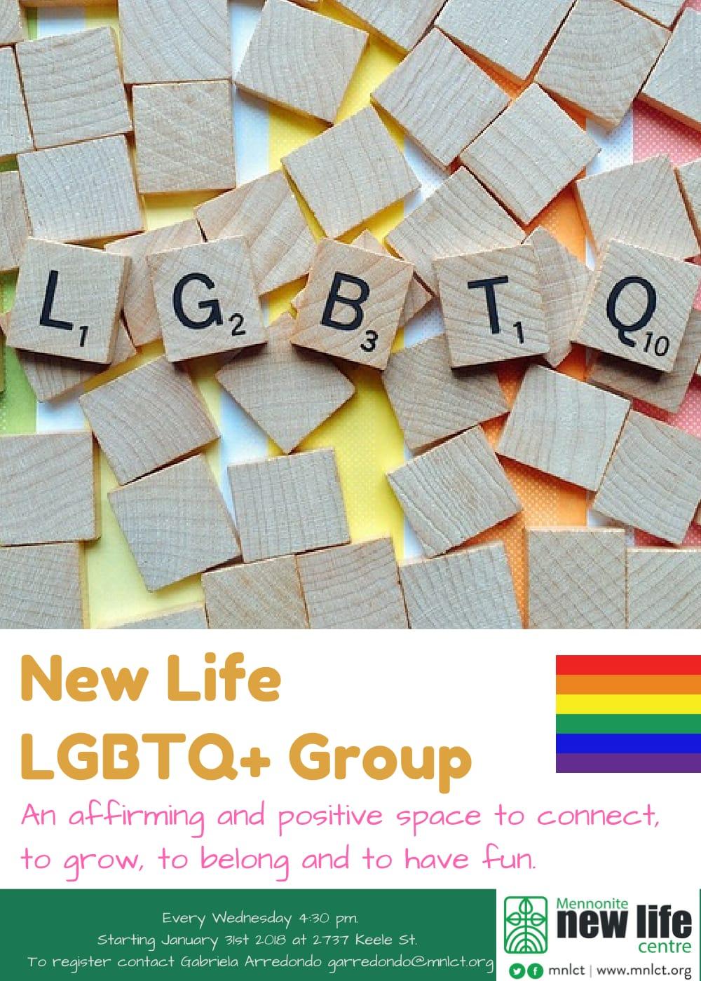 New Life LGBTQ+ Group