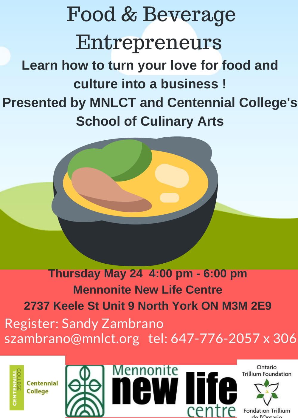 Food & Beverage Entrepreneurs Workshop