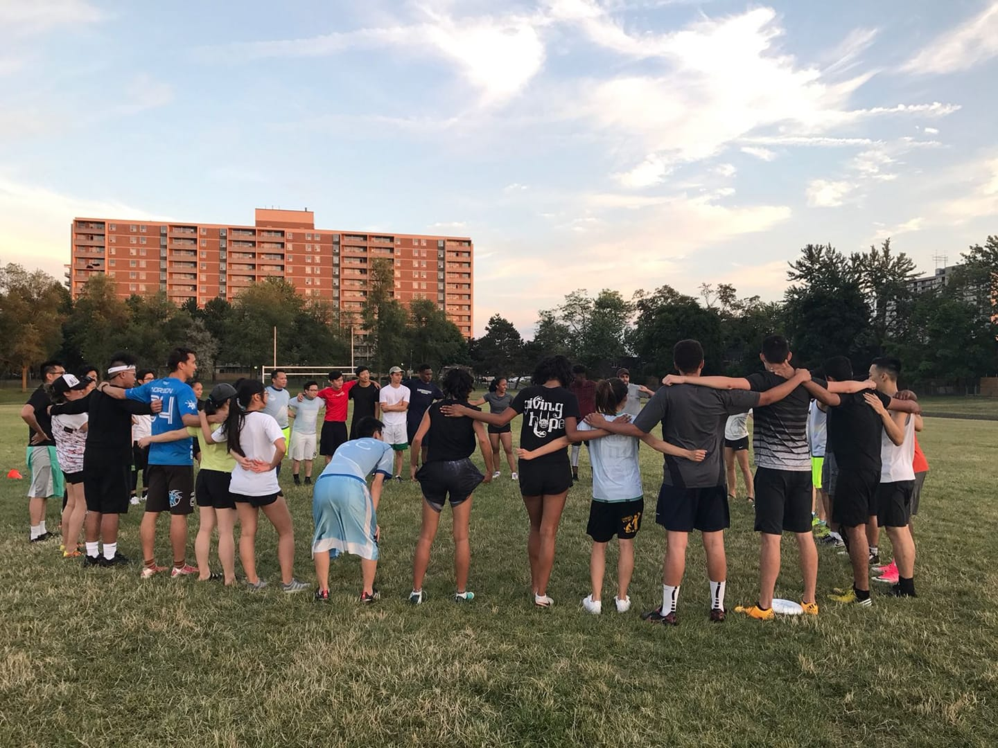 Media Release: Toronto's Ultimate Frisbee Community Helps Newcomers (Nov 13, 2018)