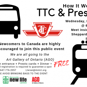 Newcomers To Canada Encouraged To Join This Public Event!